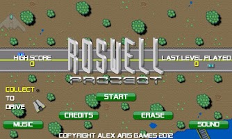 Screenshot of Roswell Project