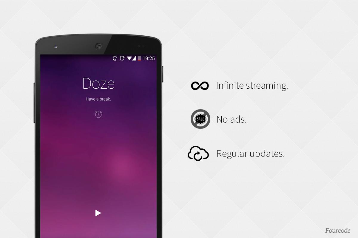 Doze - Relaxing Music - screenshot