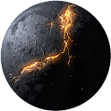 Moon and Planets HD LWP icon