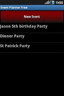 Event Planner Free- screenshot thumbnail