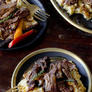 Slow Cooker Maple & Dijon Pot Roast.