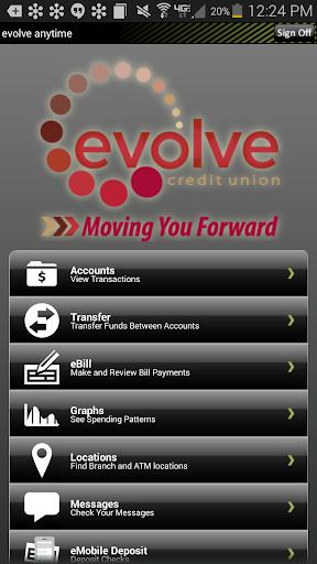 evolve Mobile Banking