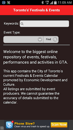 Toronto Festivals and Events