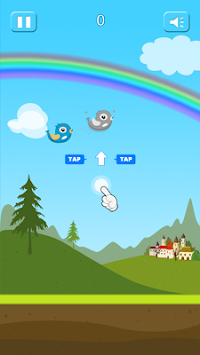 Splashy Bird-The hapless bird apk screenshot