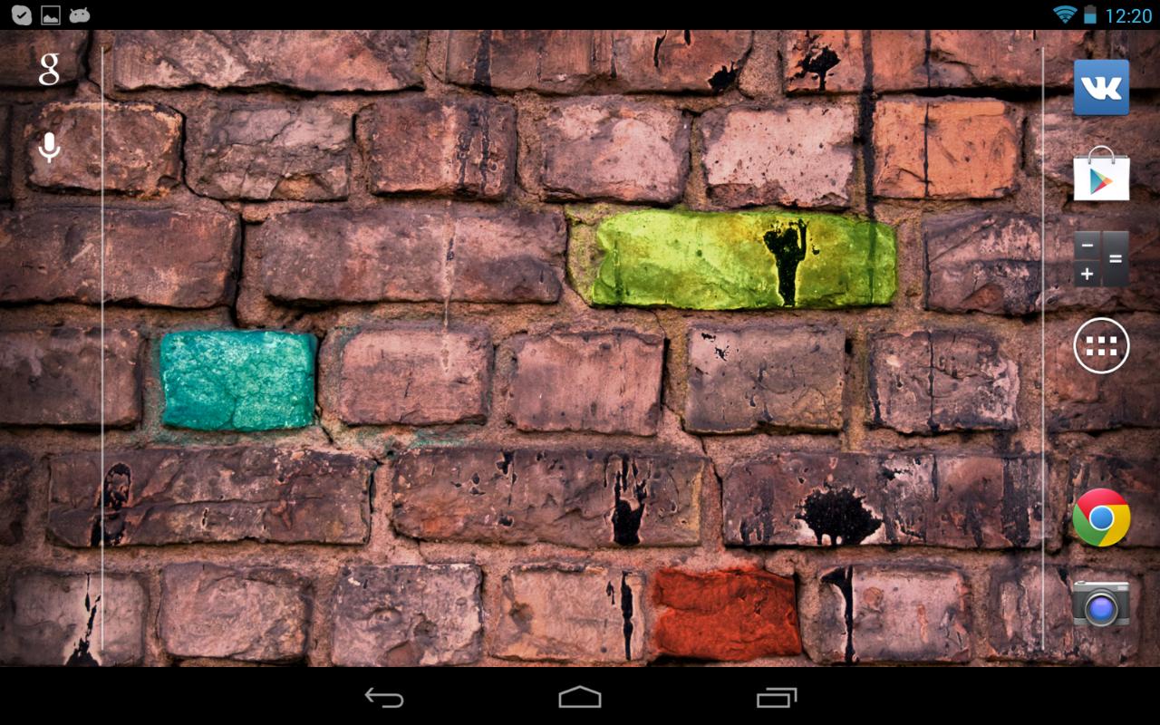 Google themes graffiti - Graffiti Wallpaper Screenshot