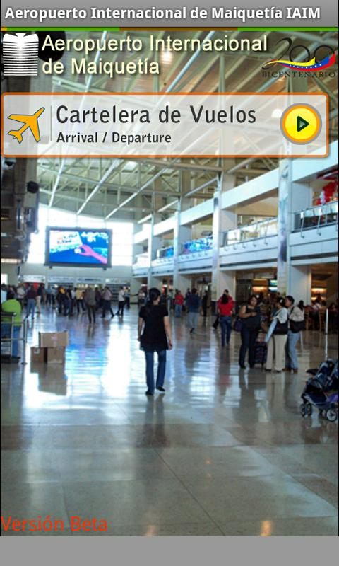 Maiquetia Airport- screenshot