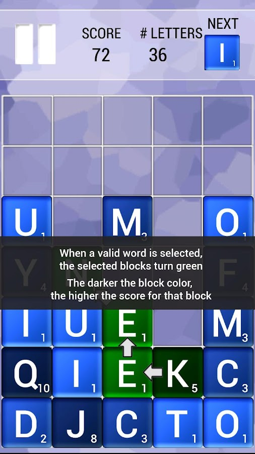 That Letter Game - Word Game - screenshot