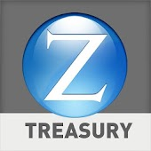 Zions Treasury Banking Tablet