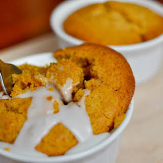 Individual Pumpkin Spice Breakfast Cakes.