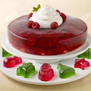 Raspberry Angel Cake.