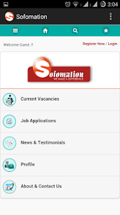 Sofomation Job Search- screenshot thumbnail