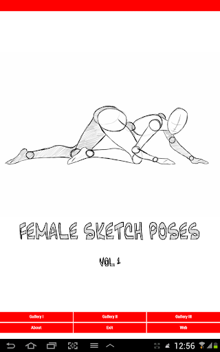 Female Drawing Poses vol.1