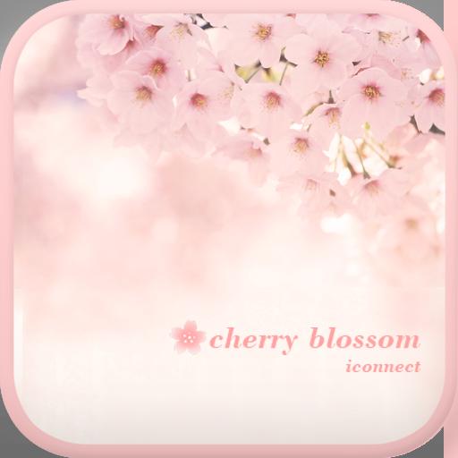 Cherry blossom go launcher 個人化 App LOGO-APP試玩