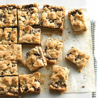 Fig Crumble Bars.