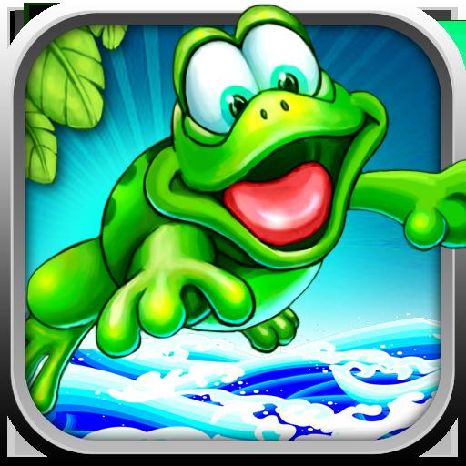 青蛙跳跳 - 拯救青蛙王子 LOGO-APP點子