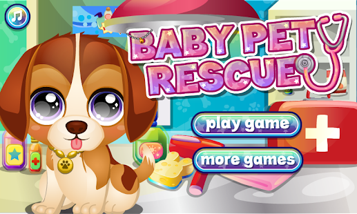 Baby Pet Care & Rescue- screenshot thumbnail