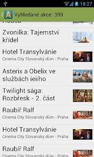 Akce v okolí - screenshot thumbnail