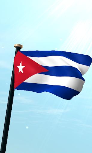 古巴旗3D免費動態桌布