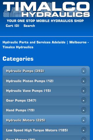 Timalco Hydraulics Online Shop