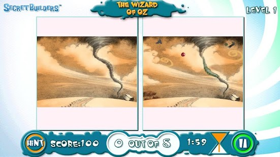 Hidden Difference FREE Wiz Oz - screenshot thumbnail