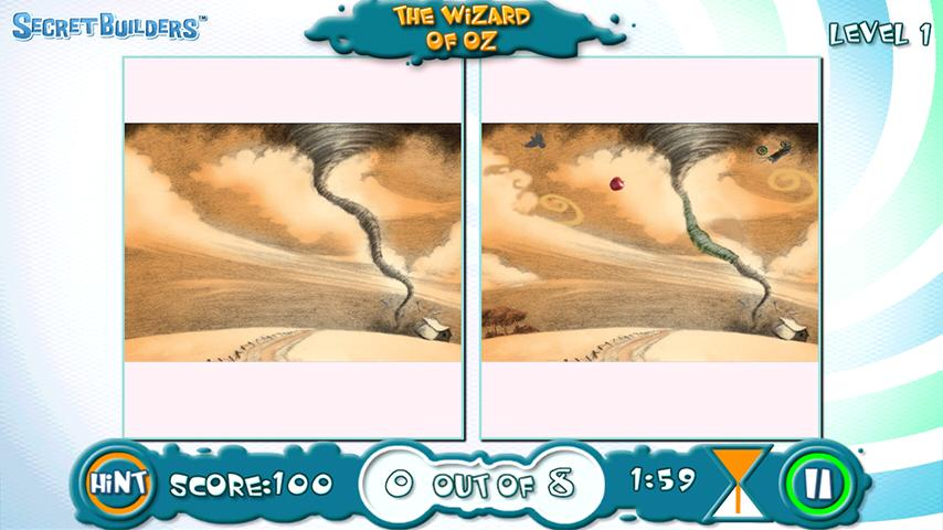 Hidden Difference FREE Wiz Oz - screenshot