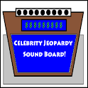 SNL Celeb Jeopardy Sound Board logo