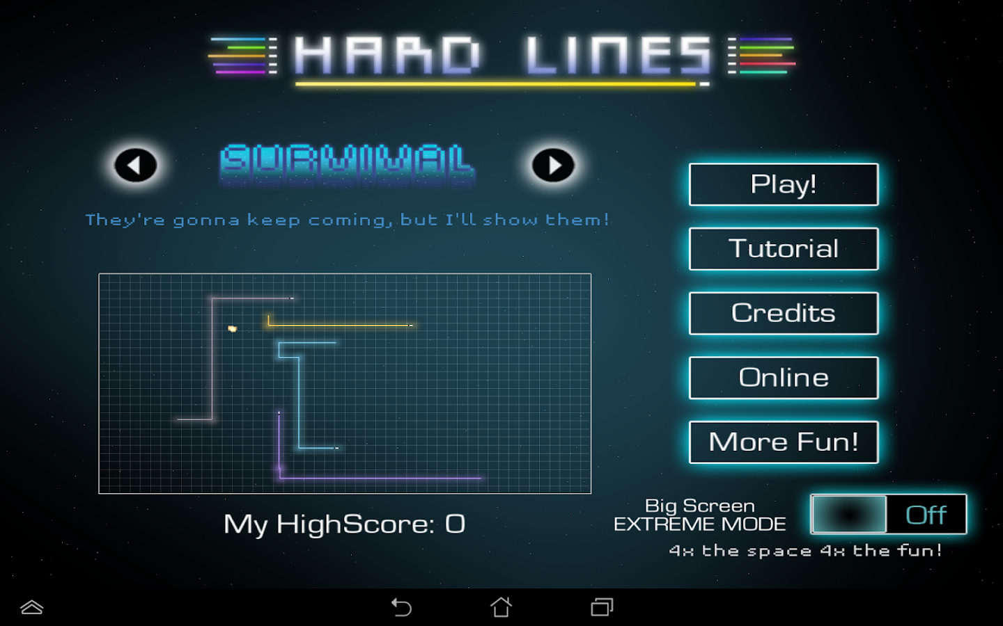 Hard Lines - screenshot