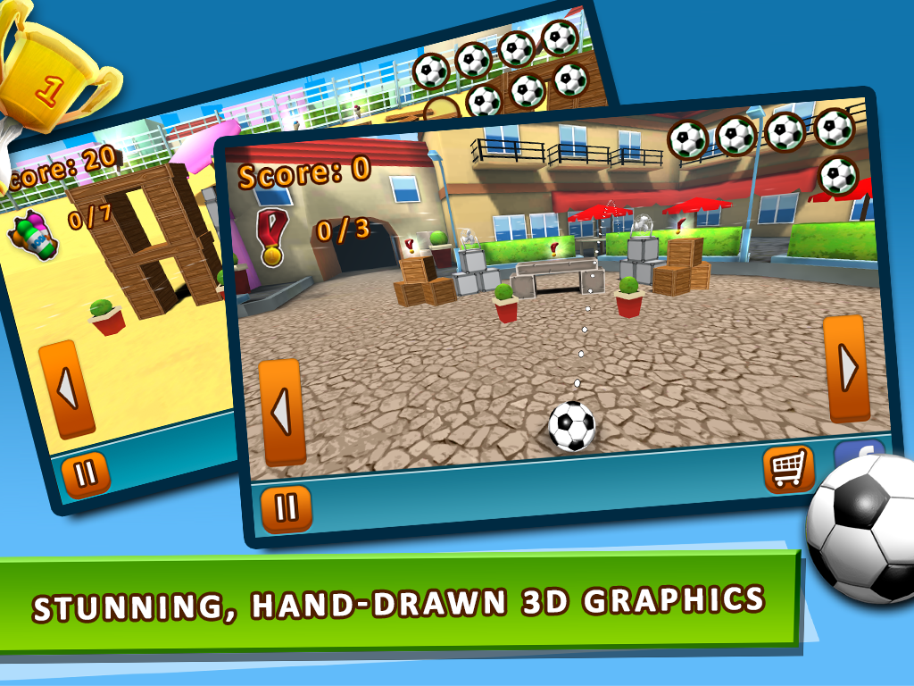 Kick The Ball FREE- screenshot
