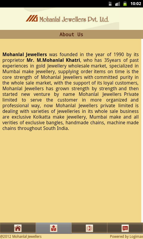 Mohanlal Jewellers- screenshot