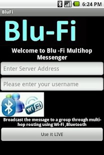 BLU-FI Messenger - screenshot thumbnail