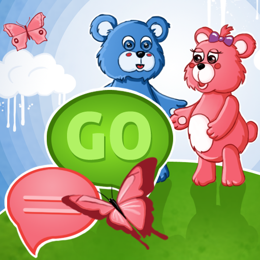 个人化のSMS ProのテーマテディベアGO LOGO-記事Game
