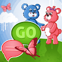 GO短信臨主題泰迪熊 icon