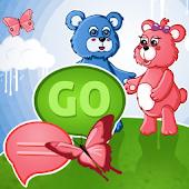 GO SMS Pro Theme teddy bears