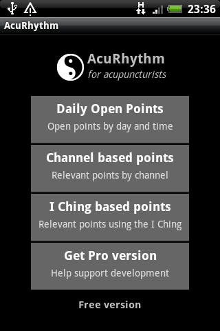 AcuRhythm Acupuncture Points - screenshot