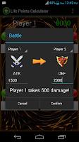 Screenshot of Life Points Calculator