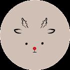 かわいいルドルフ(懐中電灯) icon