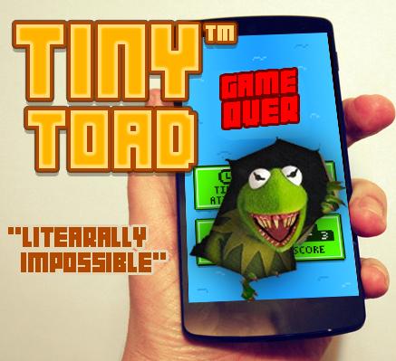 Tiny Toad Don't Tap White Tile