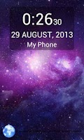 Screenshot of Magic Galaxy Lockscreen Free