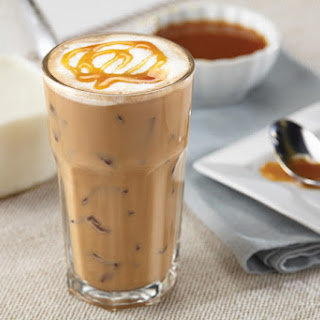 Caramel Iced Coffee.