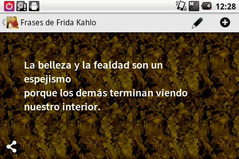 Frases de Frida Kahlo - screenshot
