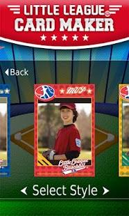 Little League® Card Maker- screenshot thumbnail