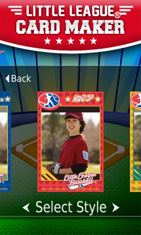 Little League® Card Maker- screenshot