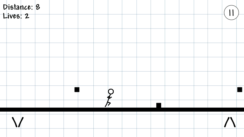 Stickman Runner- screenshot