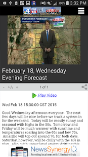 KAMR NBC4 WEATHER - screenshot thumbnail