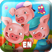 Fairy Tale & Puzzle Three Pigs