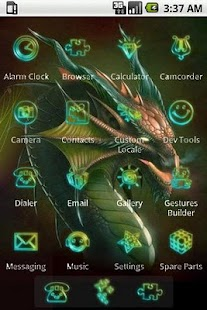 Magical Dragon [SQTheme] ADW - screenshot thumbnail