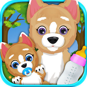 Newborn Baby Puppy & Mommy for PC and MAC
