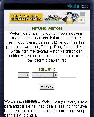 PRIMBON - ARTI NAMA - screenshot