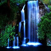 3D lovely Waterfall