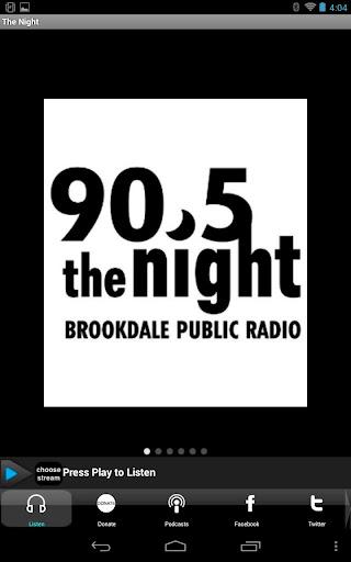 Brookdale Public Radio Player